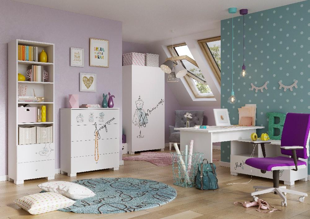 Pomysł na pokój dziecięcy - meblik