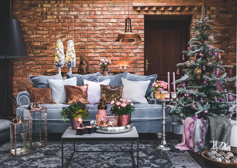 Świąteczne dekoracje do mieszkania