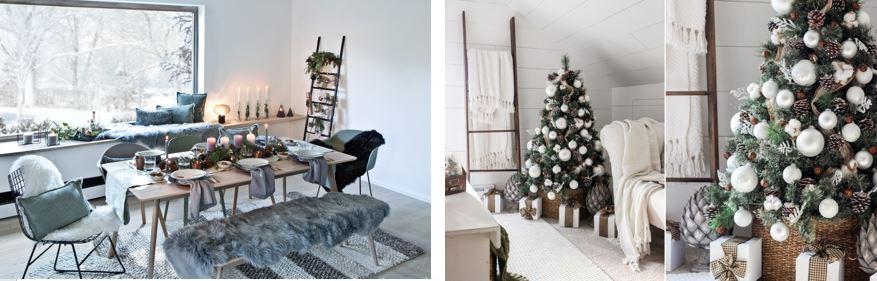 Dekoracje świąteczne w stylu skandynawskim