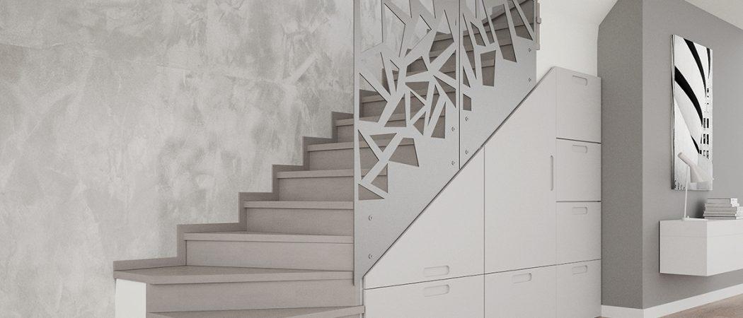 Nowoczesne projekty schodów w domu