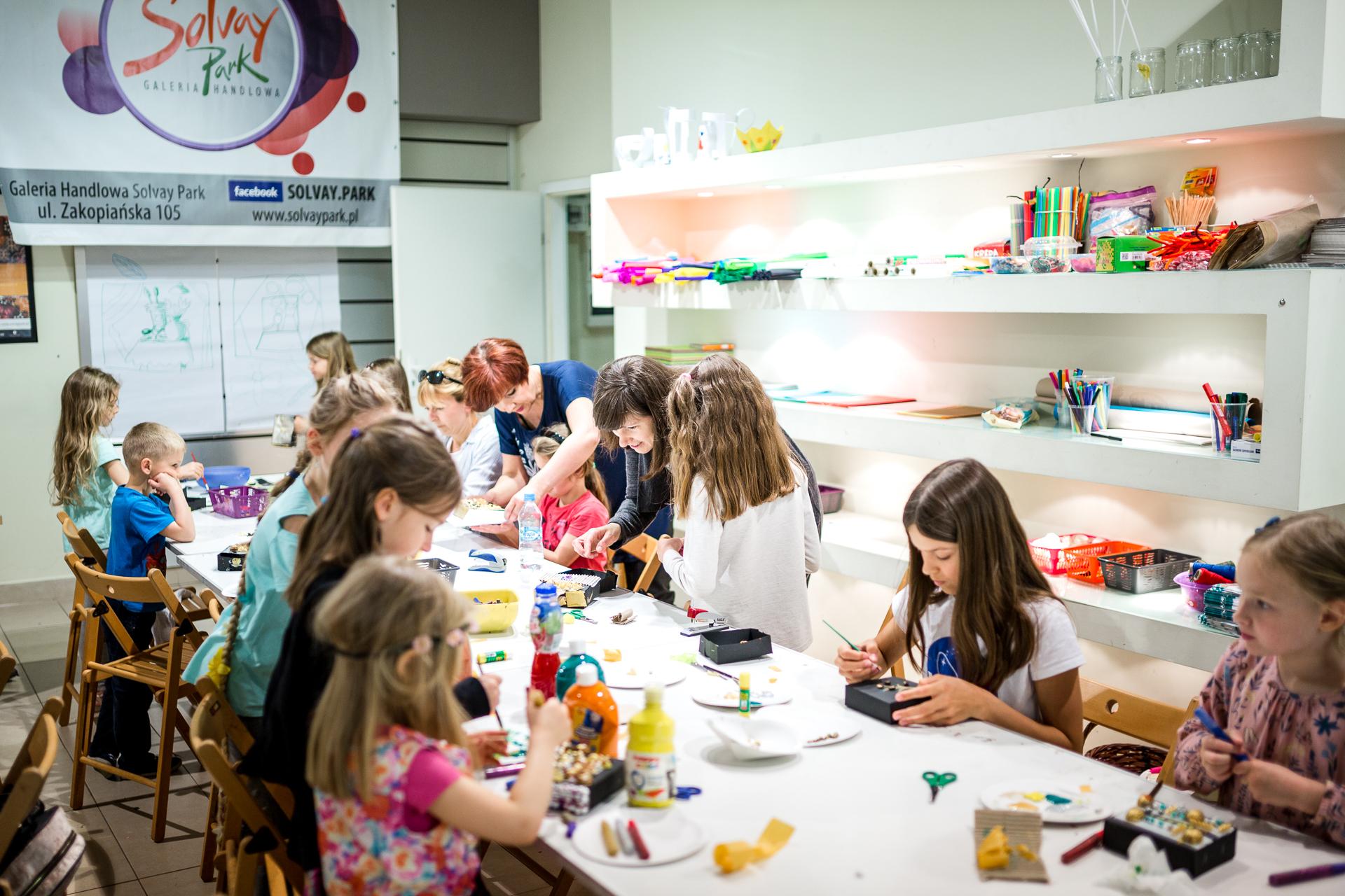 Warsztaty dla dzieci w Solvay