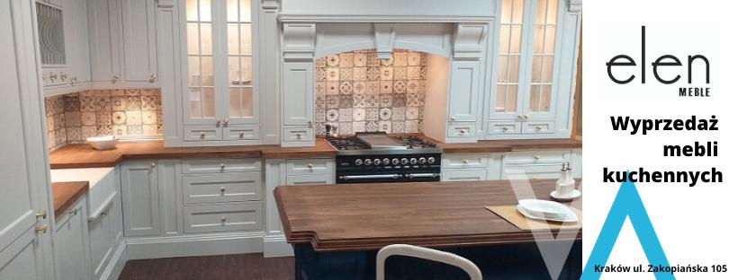 Wyprzedaż kuchni ELEN w Solvay Wnętrza w Krakowie